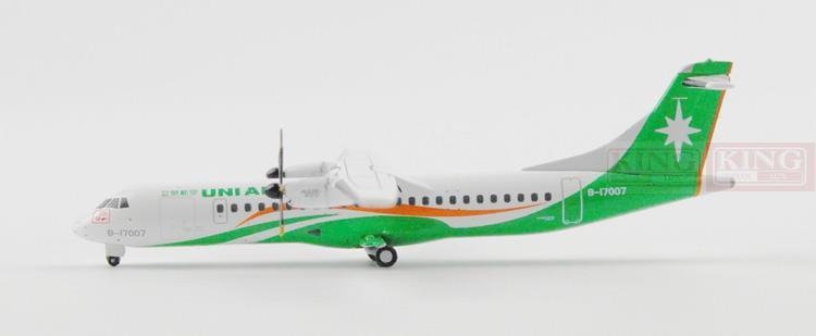 Специальное предложение: Крылья XX4379 JC Тайвань воздуха B-17007 1:400 ATR-72 коммерческих самолет модели хобби