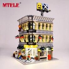 Zestaw oświetleniowy led marki MTELE do bloków Grand Emporium kompatybilny z 10211 dla dzieci prezent na boże narodzenie (nie obejmuje modelu)