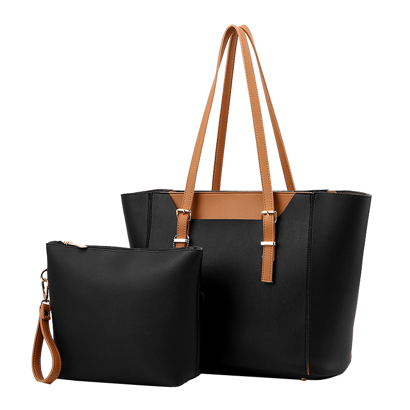Composite Bags For Women Delicate High Quality Shoulder Messenger Lady Handbag 2 Sets Brand Large Capacity Tote Bag