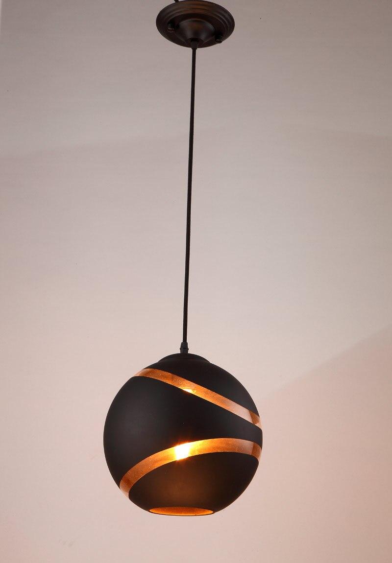 Pendant Light Loft Decor Lamp White Ball Kitchen Lights Hanging Nordic Glass Sphere Design Modern Dinning White Black Fixtures nowodvorski ball black white iii zwis
