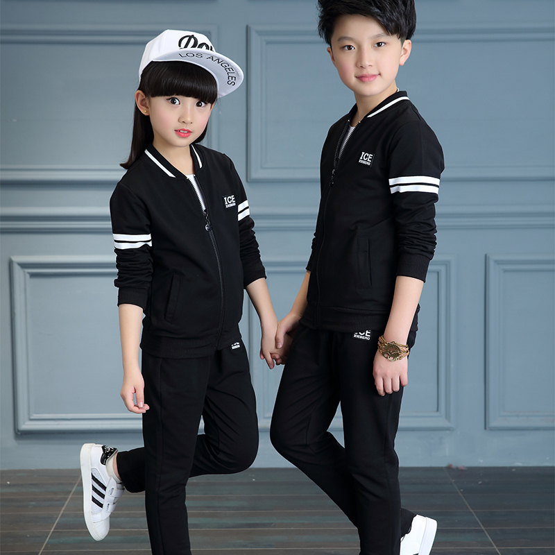 Lackytaa spring 2017 kids teenage boys clothing big boys clothes sports suit sets coat pants outfits children tracksuit set lavla2016 new spring autumn baby boy clothing set boys sports suit set children outfits girls tracksuit kids causal 2pcs clothes
