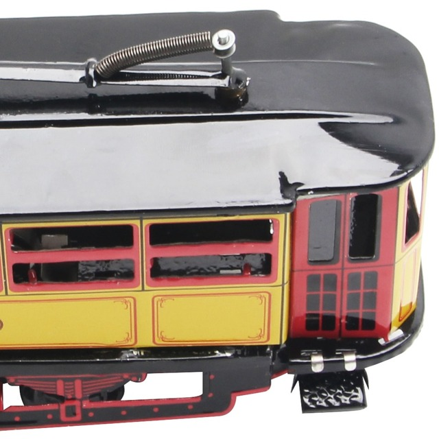 Retro Kids Clockwork Tram Toy