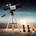 HD Astronômico Telescópio Finderscope Protable Tripé Poderoso Telescópio Monocular Espaço Lua Terrestre Assistindo As Crianças Brinquedo de Presente