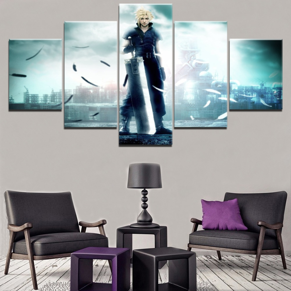 Wall Art Modular Pictures Framework Canvas Hd Prints