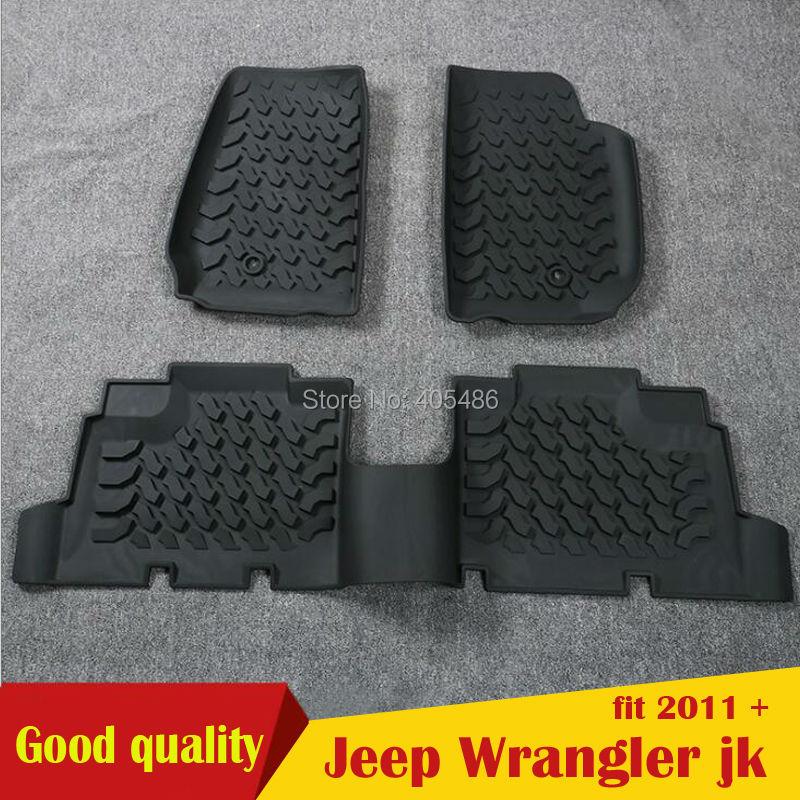 2016 date chaude mode 3D Slush tapis de sol Liner tapis en caoutchouc noir pour Jeep Wrangler jk 2011-2015 4 portes 2 portes livraison gratuite2016 date chaude mode 3D Slush tapis de sol Liner tapis en caoutchouc noir pour Jeep Wrangler jk 2011-2015 4 portes 2 portes livraison gratuite