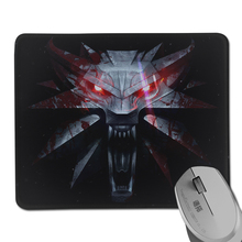 Popular Game The Witcher 3 Wild Hunt Pattern Anti-Slip Soft Durable Rectangle Mouse Mat for Optical Gaming Slide Mouse Pad