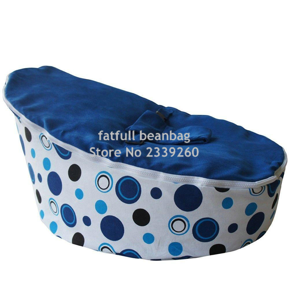 Groovy Us 30 0 Cover Only No Fillings Simple Cheap Dark Blue Baby Bean Bag Snuggle Bed Portable Seat Without Beans In Bean Bag Sofas From Furniture On Bralicious Painted Fabric Chair Ideas Braliciousco