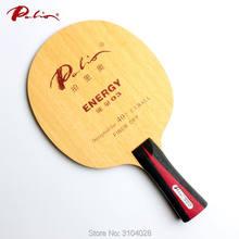 Palio chính thức năng lượng 03 table tennis blade đặc biệt cho 40 + vật liệu mới table tennis racket trò chơi loop và tấn công nhanh 9ply