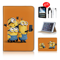 Minion Taking Photo Magnetic Leather Case For ipad Mini Case Luxury Stand Smart Back Cover For Apple ipad Mini2 Mini 1 Case