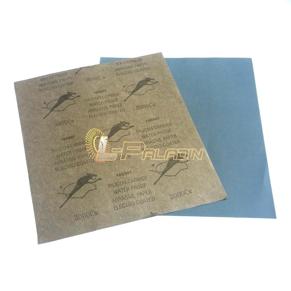 20pcs P2500 P3000 Assorted S/C Waterproof Abrasive Sandpaper Fine Sanding Paper