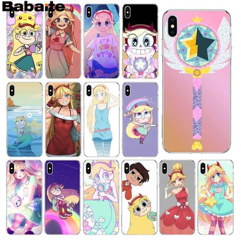 Babaite star vs the forces of evil DIY красивый чехол для телефона для Apple iPhone 8 7 6 6S Plus X XS MAX 5 5S SE XR