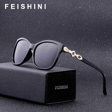 2f71eee35 Mujer FEISHINI Moda Strass Óculos de Armação Oculos Feminino Bela Praça  Óculos De Sol Das Mulheres