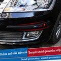 Автомобильный бампер  протектор  автомобильная лента для предотвращения столкновений  декоративные полоски  автомобильный Стайлинг для ...