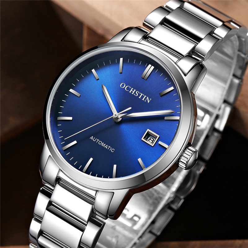 2018 Top marque de luxe automatique montres mécaniques de mode hommes montre Relogio Masculino Sport affaires montre-bracelet homme horloge