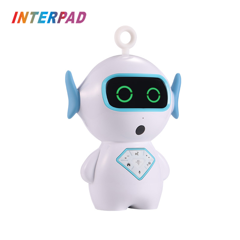 New Fashion Interpad Smart Robot Intelligent Children Learning Robot With Voice Intercom Conversate English Ai Voice Phonetic Teaching Consumer Electronics