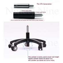 4th Generation Chair Gas Lift Cylinder Replacement Pneumatic Shock Stroke Office Chair Parts Height Lowering Sinking Cylinder