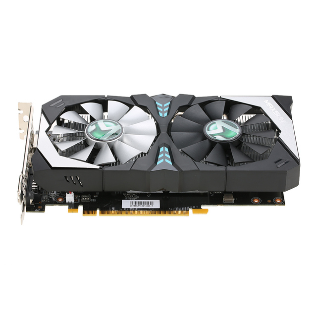 MAXSUN GetForce GTX 1050Ti Terminator Video Graphics Card 7000MHz 4G/128bit GDDR5 PCI-E 3.0 X16 For PCI-E Riser Bitcoin Miner