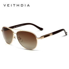 VEITHDIA Polarized Brand Mens Sunglasses Fashion Sun Glasses