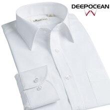Демисезонный Новый Для мужчин рубашки Длинные рукава Бизнес Рубашки для мальчиков рубашка Рубашка для отдыха для мужчин