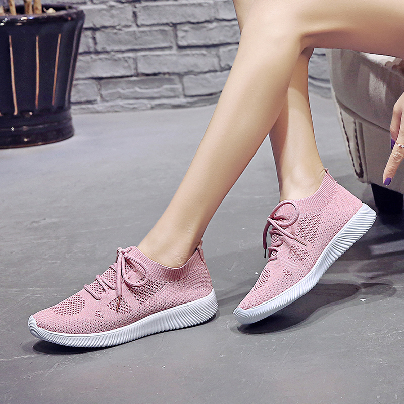 WENYUJH Women Casual Shoes 2019 Fashion Mesh Women Sneakers Flats Platform Spring Summer Lace-up Breathable White Women ShoesWENYUJH Women Casual Shoes 2019 Fashion Mesh Women Sneakers Flats Platform Spring Summer Lace-up Breathable White Women Shoes