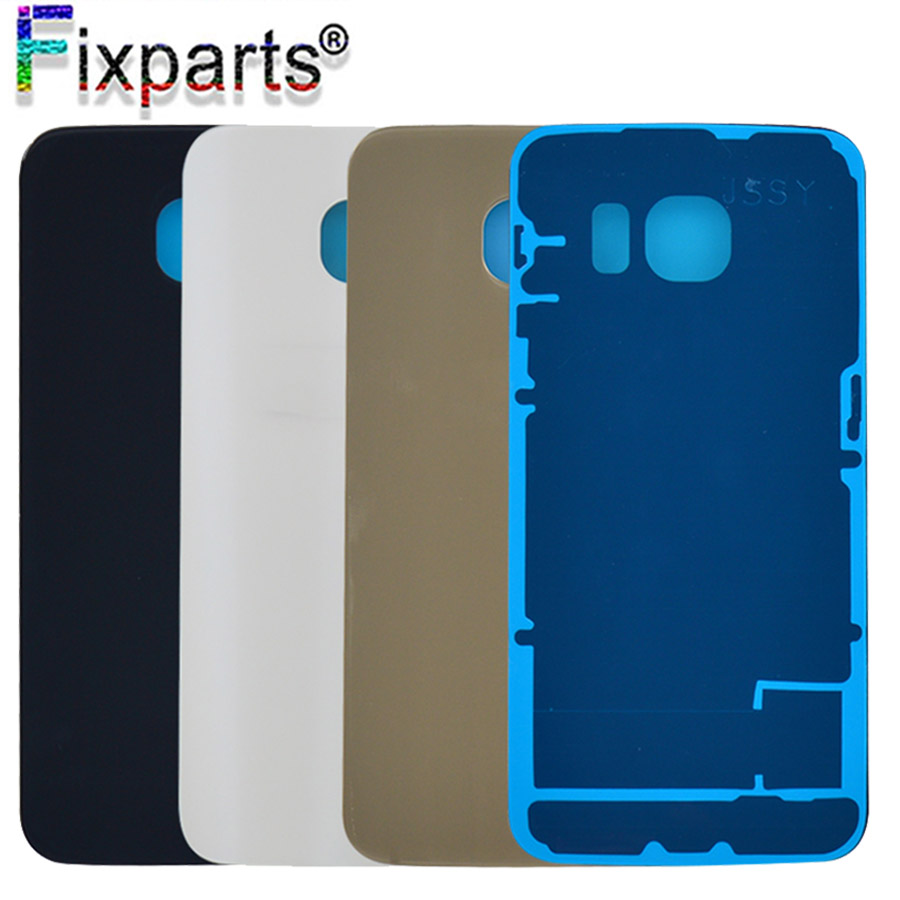 For SAMSUNG Galaxy S6 G920 S6 EDGE G925 Back Battery Cover Door Rear Glass Housing Case For SAMSUNG S6 Edge Plus Battery Cover image