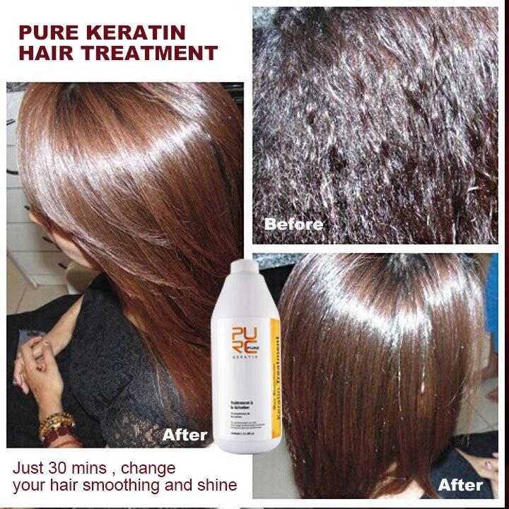 Kératine brésilienne traitement des cheveux formaline 5% 1000ml - Soin des cheveux et coiffage - Photo 2