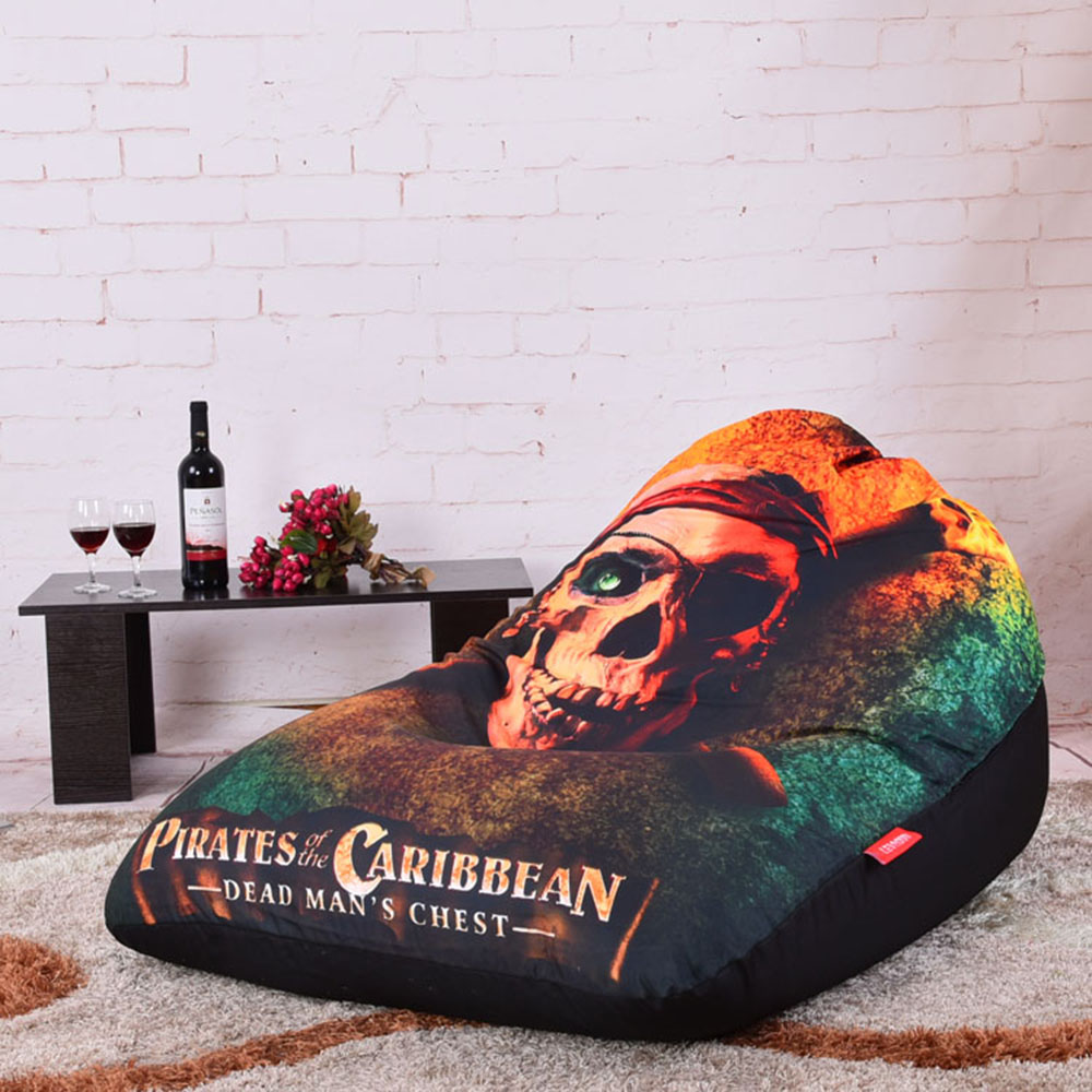Amazing Us 33 0 40 Off Levmoon Beanbag Sofa Chair Caribbean Pirates Seat Zac Comfort Bean Bag Bed Cover Without Filler Cotton Indoor Beanbag Lounge In Dailytribune Chair Design For Home Dailytribuneorg