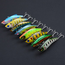 8Pcs/Lot Boutique VIB Vibrate Fishing Lures 9cm/26.5g Crankbait Artificial Hard Baits Treble Hooks Tackle Jerkbait