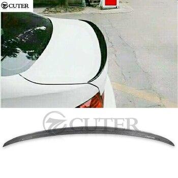 E92 M3 style Carbon fiber Car Rear Wings trunk Lip Spoiler For BMW E92 3 series Coupe 320i 325i 330i 335i body kit 06-13