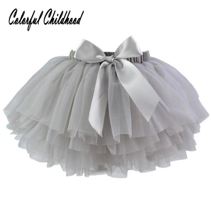 0-3yrs Baby Mädchen Rock Sommer Baumwolle Mesh Rock Kinder Ballett Flauschigen Tüll Rock Kinder Party Hochzeit Kostüme Direktverkaufspreis
