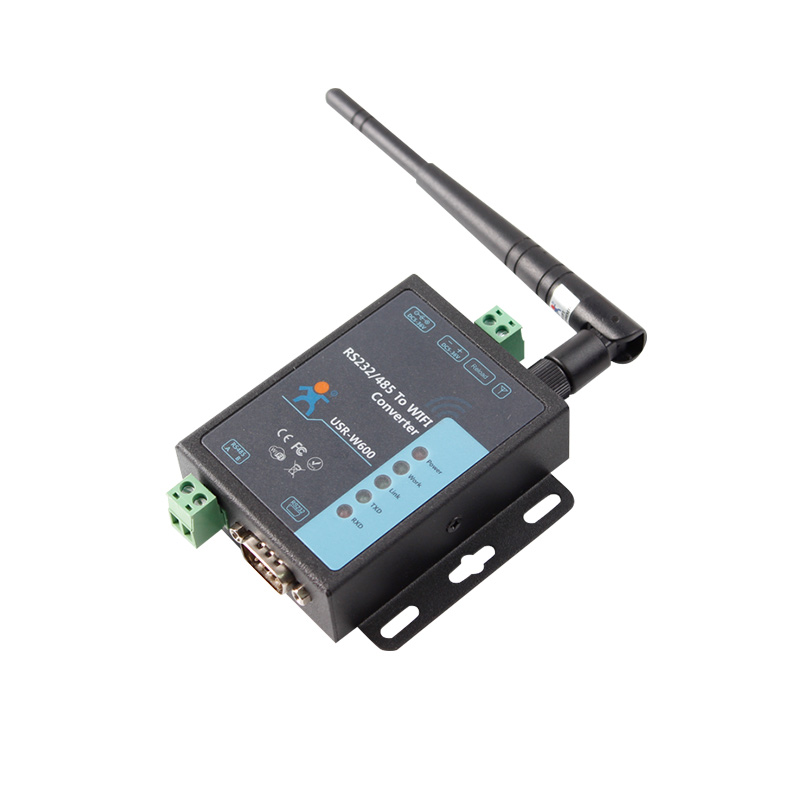 RS232 RS485 Serial To WiFi Converter Module Server For Data Transmission And Automation Control Wireless Meter Reading