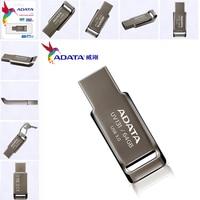Фирменная новинка оригинальный ADATA реальные Ёмкость 64 Гб металлический флеш-накопитель USB 3,0 32 Гб карта памяти USB3.0 16 ГБ флеш-диск USB Стик