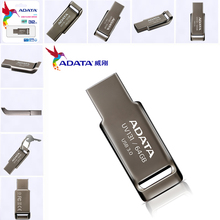 Brand New Original ADATA Real Capacity 64GB Metal USB 3.0 Flash Drive 32GB Memory Stick USB3.0 16GB Pen Drive Disk USB Stick