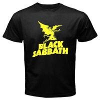 New BLACK SABBATH Flying Demon Metal Rock Band Men S Black T Shirt Size S 2xl