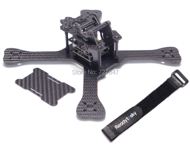 DIY Mini 3K pure carbon Mini 210mm 210 Cross Racing Quadcopter w/ 4mm Main Lower Plate Matek XT60 PDB for GEPRC GEP-TX QAV-X графитовый лист hi tech carbon 1 210 183 4 plate 2101834