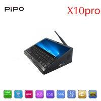 PIPO X10pro Windows 10 Android 5.1 Smart TV Box intel Z8350 Quad Core 4 GB RAM 64 GB ROM Set Top Box Soporte Bluetooth4.0 HDMI 2.0