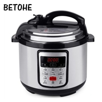 BETOHE 12 in 1 Multi Use Programmable Pressure slow cooking pot Cooker Quart 900W Stainless Steel Electric Pressure Cooker