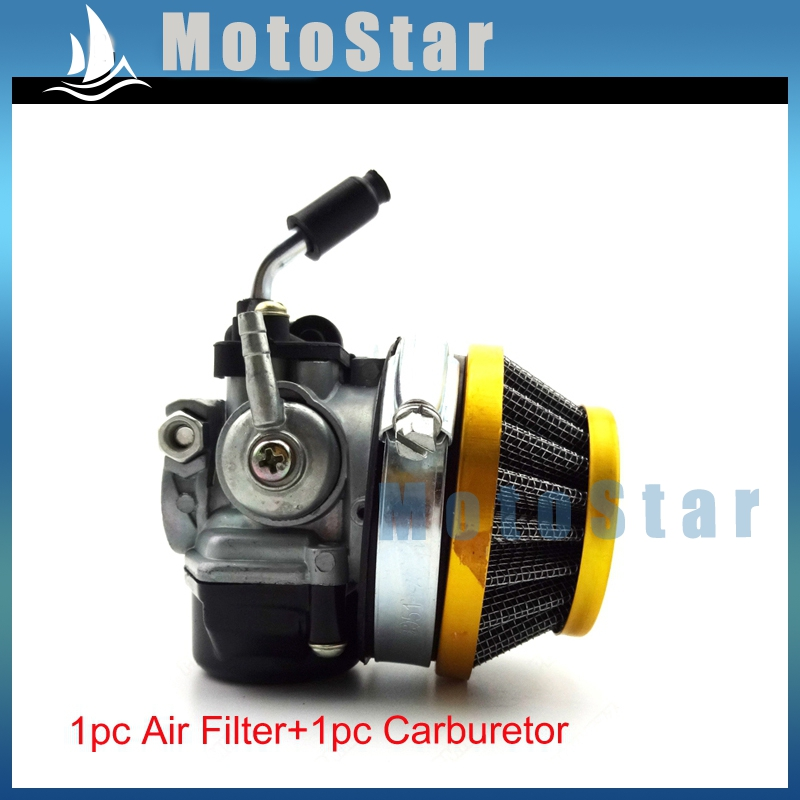 Aftermarket Dellorto Style SHA 14mm Carburetor + Air Filter Gold For Tomos  A36 Golden Bullet Targa LX TT Sprint Colibri In Air Filters U0026 Systems From  ...