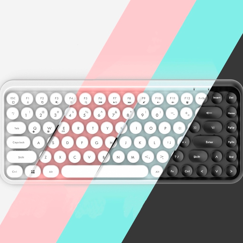 Muti Function Wireless Bluetooth Keyboard For iPhone Mobile Phone iPad Laptop Home Office portable wireless steampunk