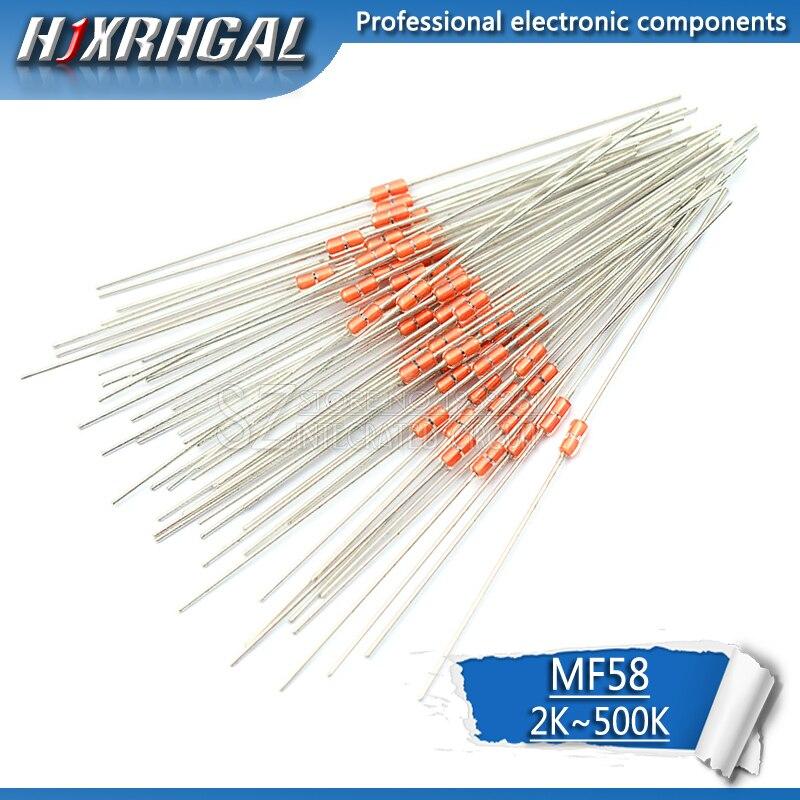 20pcs Thermal Resistor NTC MF58 3950 5% B 2K 5K 10K 20K 50K 100K 200K 500K Ohm Hjxrhgal