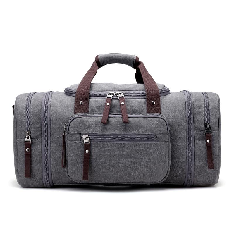 Мъжка чанта за пътуване с голям капацитет чанта багаж пътуване Duffle чанти високо качество платно уикенд чанти многофункционални пътуване tote  t