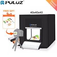 PULUZ 40*40 см 16inc света фотостудия box мини фотостудия photograghy Softbox Led фото освещения студии тента Box комплект