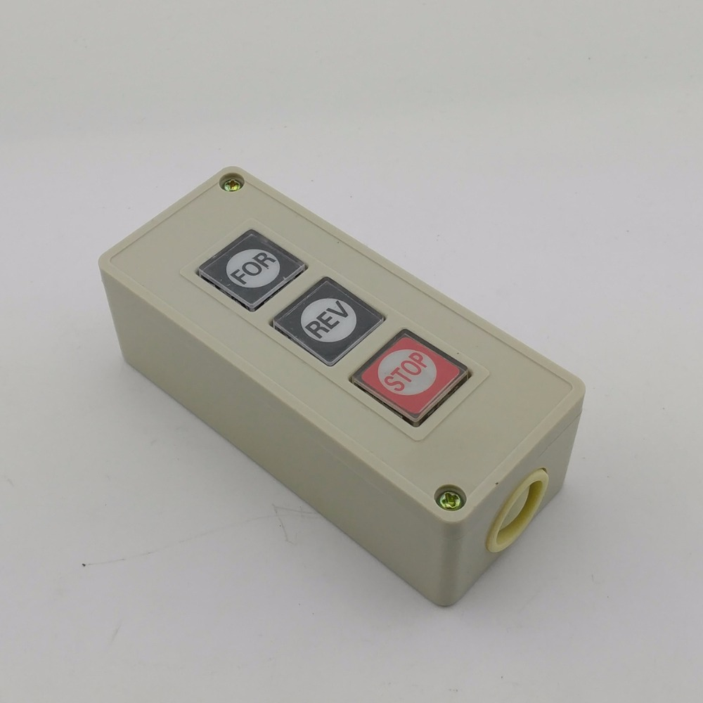 3 position push button switch Control button electric switch 3A ...