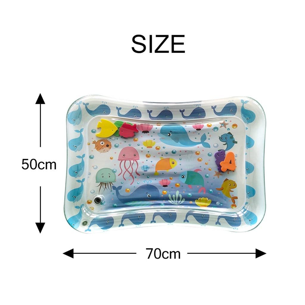 Детский водный игровой коврик, игрушки, надувные, утолщенные, ПВХ, для младенцев, животик, время, игровой коврик для малышей, для активного отдыха, игровой центр, водный коврик для малышей
