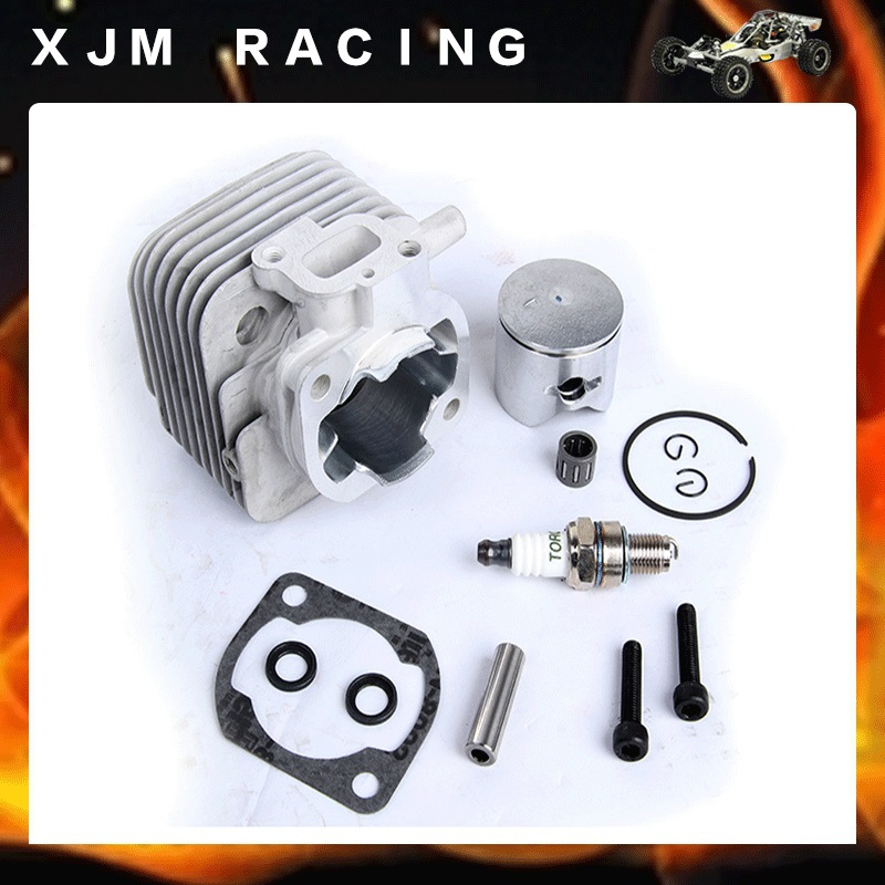 2 hole 29cc engine set fit hpi rovan baja 5b toy parts flywheel magneto fits 23cc 26cc 29cc 30 5cc cy fuelie engine for 1 5 hpi baja 5b 5t sc km rovan rc car toy parts