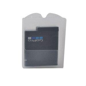 Image 4 - 6 pièces boîtier de batterie Transparent batterie de protection boîte de rangement étanche à lhumidité boîte pour Gopro Hero 7 6 5 noir Xiaomi Yi caméra