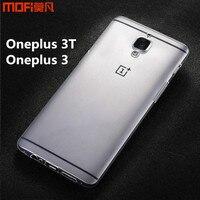 Oneplus 3T Case Cover Oneplus 3 Case MOFi Original OnePlus A3010 A3000 TPU Soft Back Case