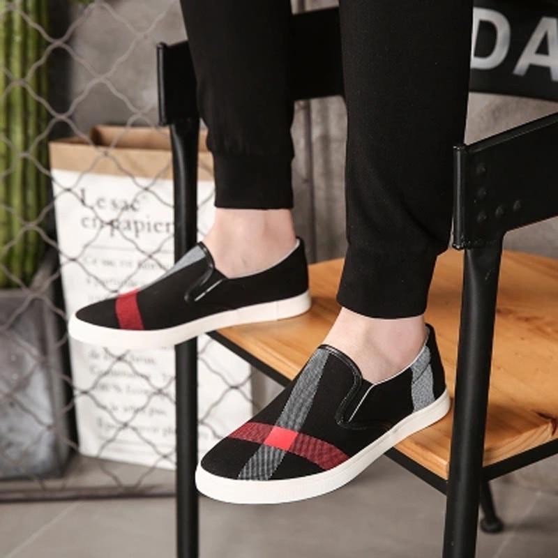 Ddi Chaussures Confortables Nouveaux Toile Paresseux Hommes white khaki Hombre Mode Sport Conduite De Low Black Aide Zapatos 4wH4qn1rp
