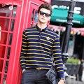 Free shipping! 2016 new men's brand of men's polo shirt mercerized cotton men's short-sleeved polos polo men