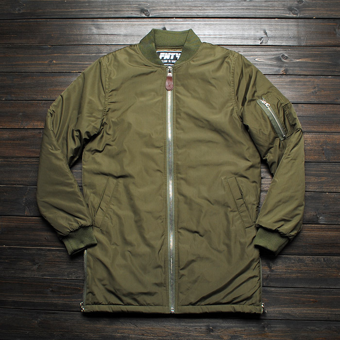 Fashion Extreme Winter Coats Mens Designer Clothes Men Urban Clothing Long Flight Bomber Side Zip Jacket Men Coats In Jackets From Mens Clothing